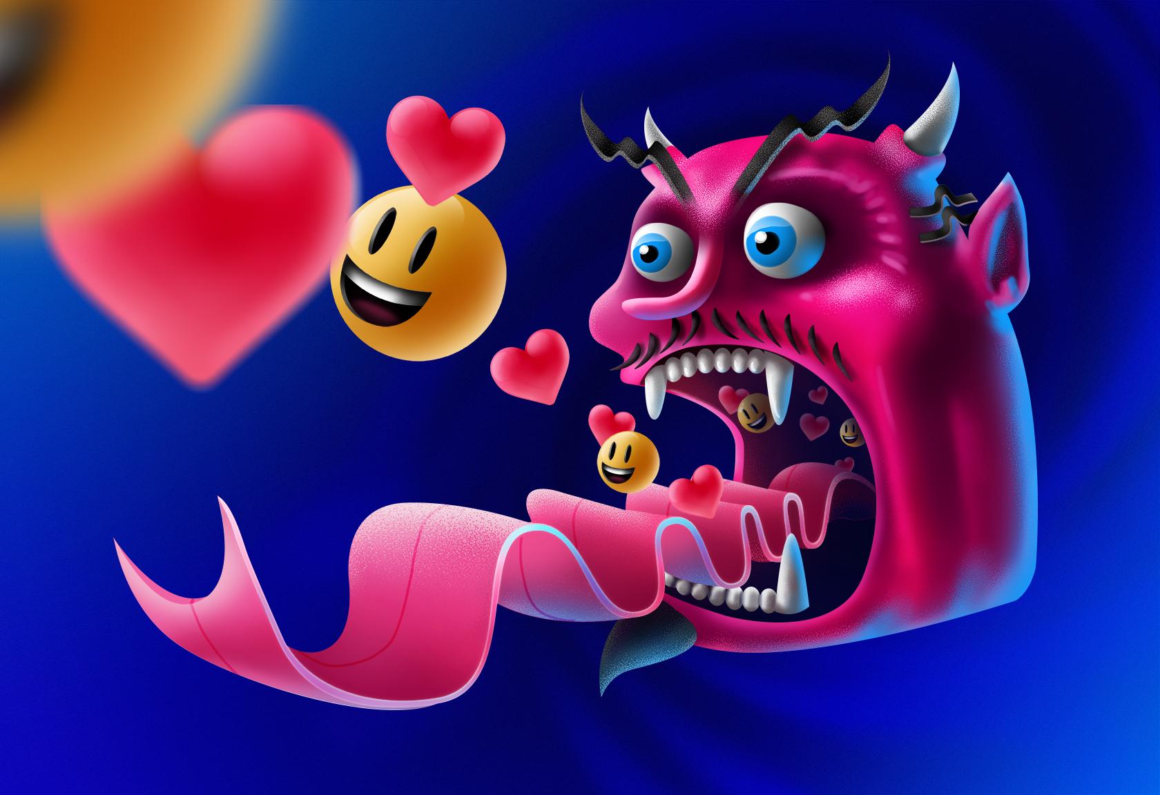 SocialMedia_Devil-Shading_Behance_Layers