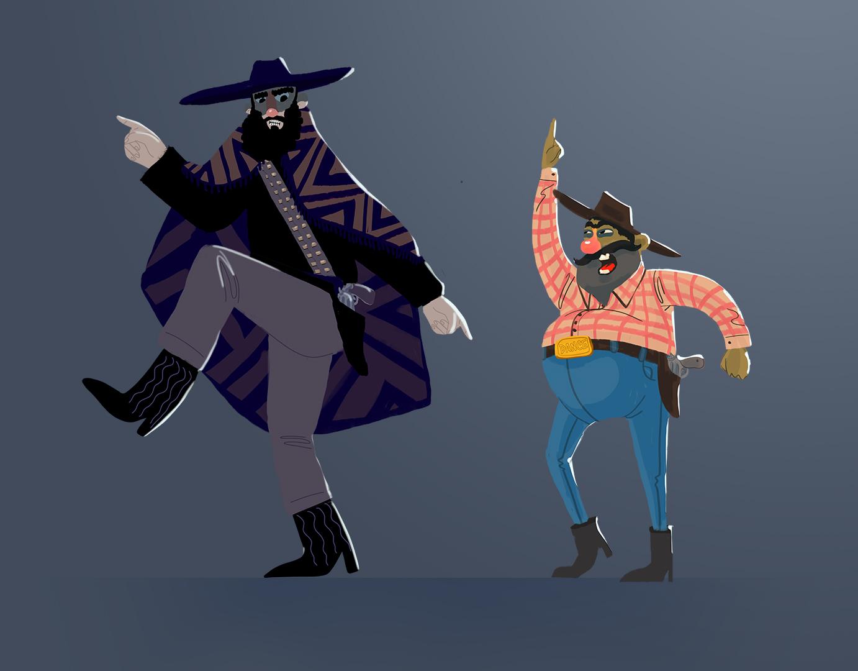 Cowboy-Dancing-painted